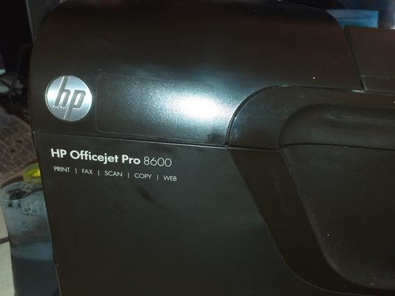 Impressora Hp Officejet Pro 8600 Para Manutenção Ou Peças.