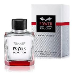 Perfume Hombre Power Of Seduction Banderas 100m Cuotas+envio
