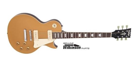 Guitarra Vintage Les Paul V100-gt Gold Top