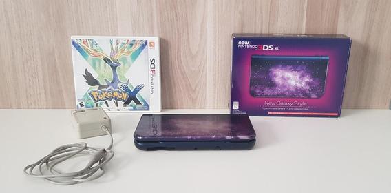 New Nintendo 3ds Xl (não E Desbloqueado) Um Jogo Pokémon X