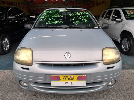 Renault Clio Sedan 1.6 Rt Completo -ar 2001