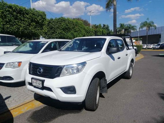Nissan Frontier 2018 4p Xe L4/2.4 Man P. Seguridad