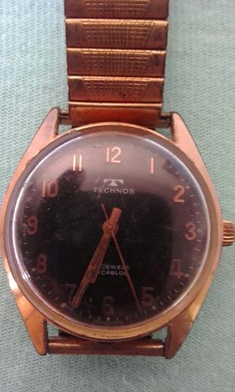 Relógio Technos 17 Jewels Incabloc (296k)