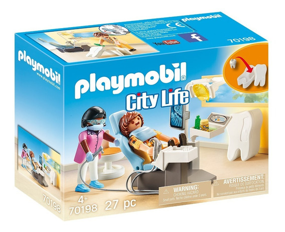 Playmobil 70198 Dentista City Life Geobra