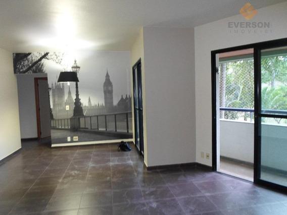 Apartamento Com 3 Dormitórios Para Alugar, 95 M² Por R$ 1.100/mês - Cidade Jardim - Rio Claro/sp - Ap0161