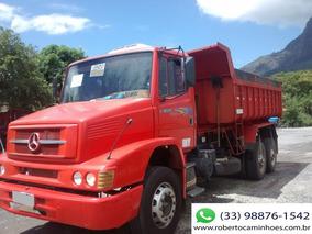 Mb 1620 Truck Ano 2005 C/ Caçamba Rossetti 10m Ano 2010 = Vw