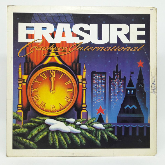 Lp Erasure Crackers Internacional Disco De Vinil Stop! 1989