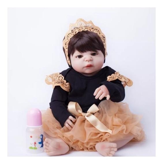 Bebês Reborns Meninas E Meninos Disponíveis A Pronta Entrega, Corpinho Todo De Silicone