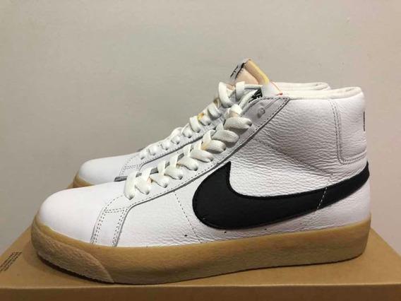 Tenis Nike Cano Alto S B Zoom Blazer Mid Iso Original