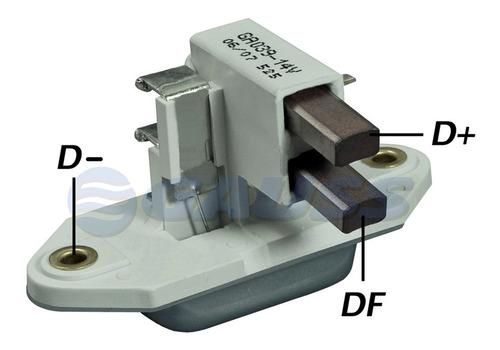 Imagen 1 de 7 de Regulador Alternador Chevrolet Corsa 1.0 55a. Bosch