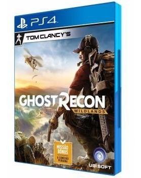 Tom Clancys Ghost Recon Wildlands Ps4 Cd Bluray Lacrado Novo