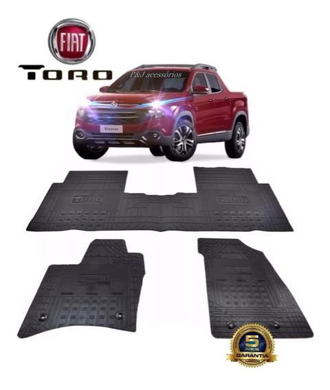 Tapete Fiat Toro Original 2016 / 2019 Personalizado/emborrachado
