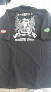 Camisa Polo Preta Treinavil Tamanho G