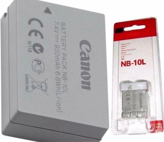 Bateria Original Canon Nb-10l P/ Sx-50 Sx-40 Gx1 Sx40hs