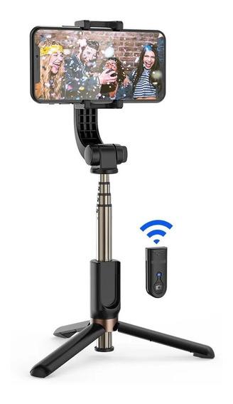 Bastão De Selfie Tomate C/ Tripé Bluetooth E Rotação