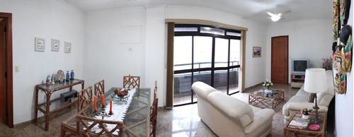 Apartamento Com 3 Dormitórios À Venda, 117 M² Por R$ 750.000,00 - Aparecida - Santos/sp - Ap5564