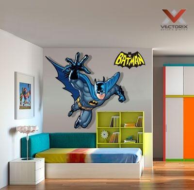Vinilos Decorativos Avengers Batman 100 X 150 Cm