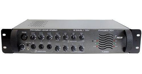 Amplificador Potência 480w Nca Pwm 300 Top De Linha
