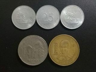 Monedas Antiguas Mexicanas Y Cubanas De Turismo De Colección