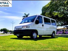 Boxer Minibus - 2003 - Branca - 16 Lug - C/ Ar Condicionado