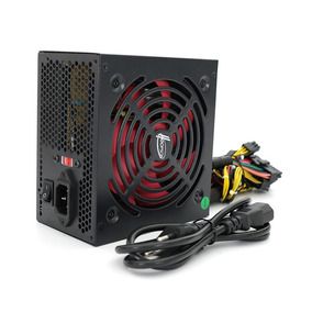 Kit 5 Fonte Atx Gamer 450w Real 24 Pinos - Hoopson
