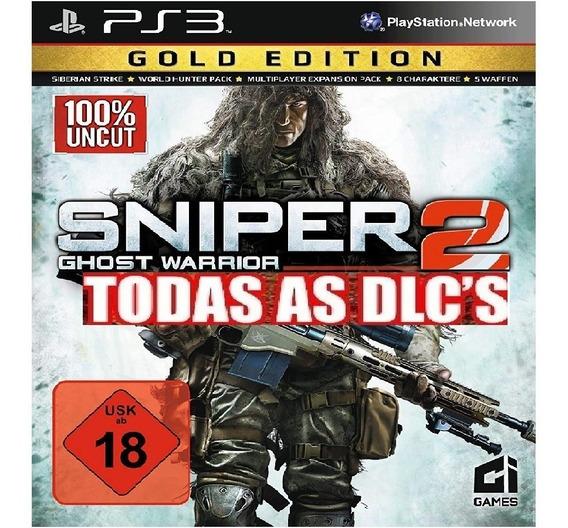 Jogo Ps3 Sniper Ghost Warrior 2 Gold Edition Digital Cod.psn