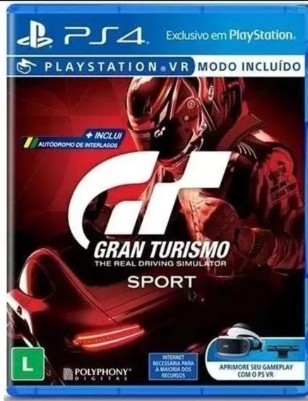 Gran Turismo Sport Ps4 Midia Fisica Original Novo Lacrado