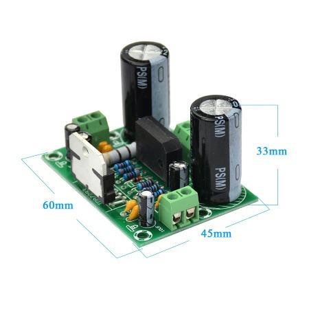 Amplificador Montado Tda7293 - Kit Com 4 Unidades