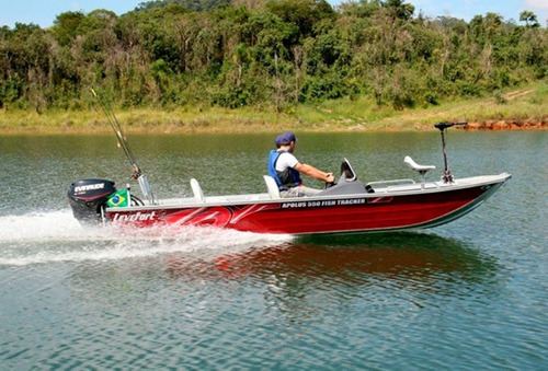Barco Apolus 550 Fish Tracker C/ Mercury 50hp 2t + Carreta