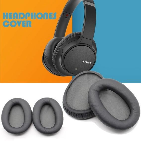 Para Sony Wh-ch700n Fones De Ouvido Substituição Macio Espon