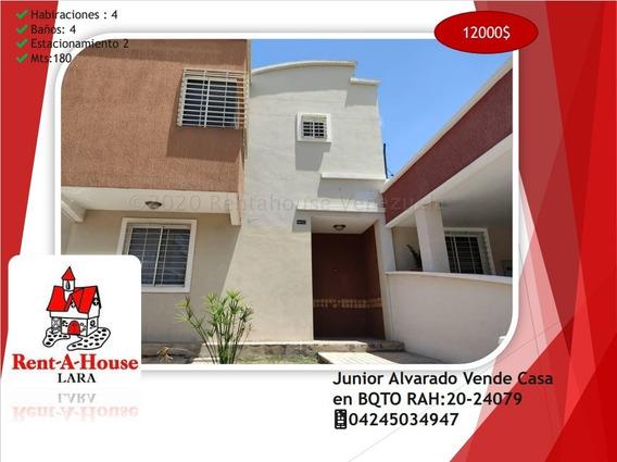 Junior Alvarado Vende Casa En Bqto Rah:20-24079 ¿04245034947