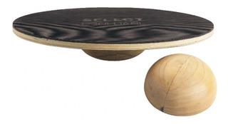 Tabla De Equilibrio O De Propiocepción De Madera Circular