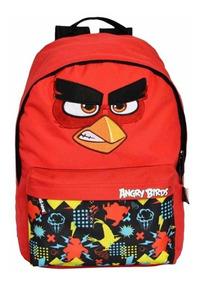 Mochila Infantil Angry Birds Abm803603 Un Santino