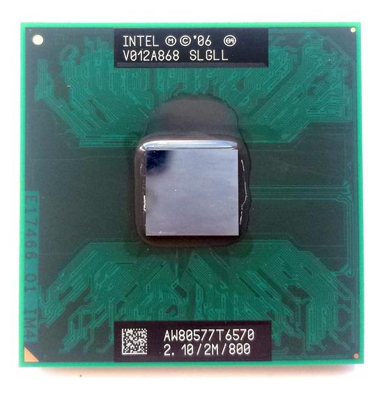 Processador Core2duo T6570 2.18/2m/800fsb Funcionando