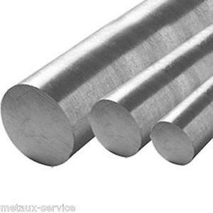 Vergalhão Redondo Maciço Aluminio 1/4