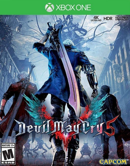 Devil May Cry 5 Xbox One Midia Fisica