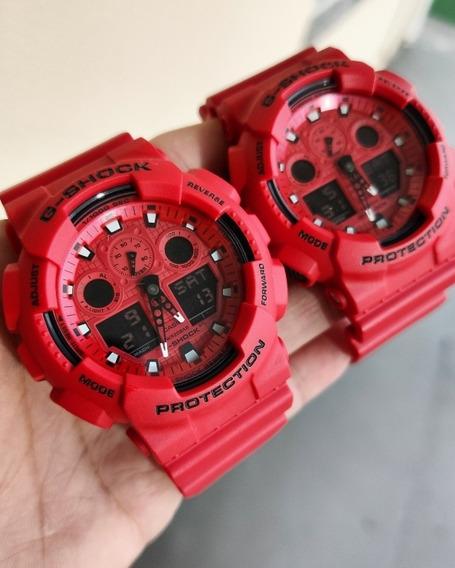 Relógio Masculino Casio G-shock Ga-100c-4