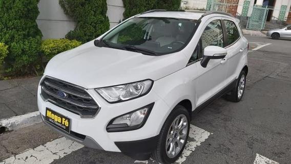 Ford Ecosport Titanium 2.0 16v Aut Flex Completo Branco 2019