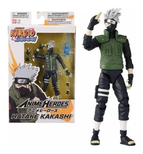 Boneco Hatake Kakashi - Naruto Shippuden Anime Heroes Bandai