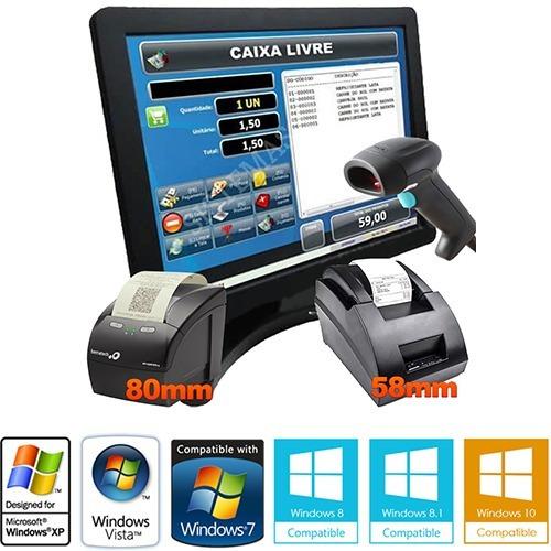 Sistema Software Compatível C Impressora Térmica 58mm E 80mm