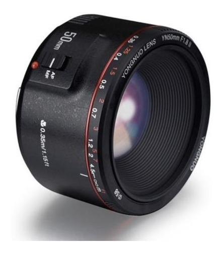 Lente Yongnuo Yn 50mm F / 1.8 Ii Para Canon Ef+nota