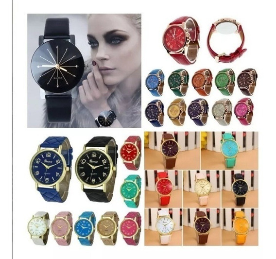 Kit 4 Relógio Feminino Barato Para Revenda Atacado Compre Já