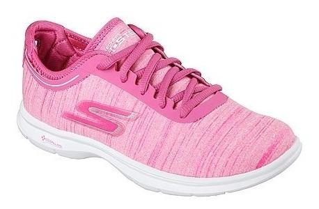 Tênis Feminino Skechers Go Step Ideal Para Caminhada/treino