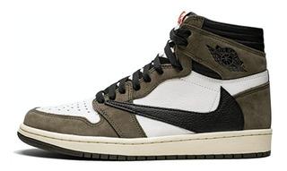 Tenis Nike Air Jordan 1 High Og Ts Sp Travis Scott