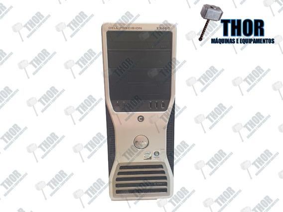 Cpu Dell Precision Workstation T3400 Hd 500gb Ram 8gb