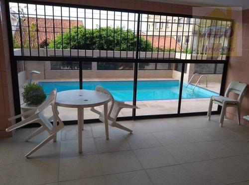 Apartamento À Venda, 65 M² Por R$ 240.000,00 - Vila Caiçara - Praia Grande/sp - Ap3067