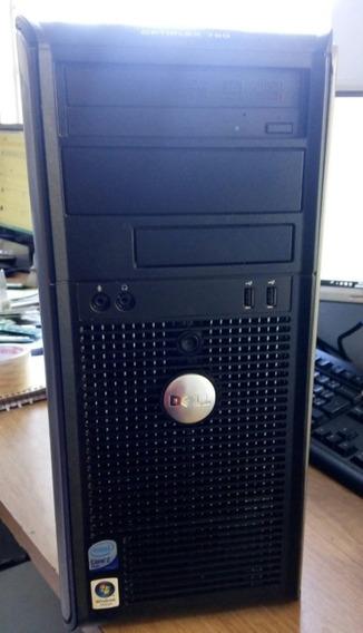 Cpu Dell Optiplex Core 2 Quad 2.4ghz Memoria 2gb Ddr2 Hd160g