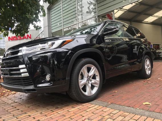 Toyota Highlander Awd 3.5l 7 Puestos 2018