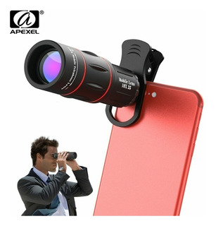 2 Luneta Telescópio/celular/lente Zoom Hd 18x Pronta Entrega