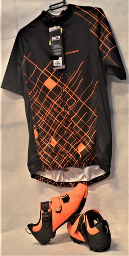 Imagem 1 de 10 de Kit Tmb/speed Masc Camisa Sxtr+sapatilha Grool(presilha )